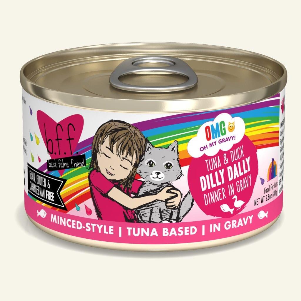 Weruva Weruva BFF OMG Tuna & Duck Dilly Dally Wet Cat Food 5.5oz