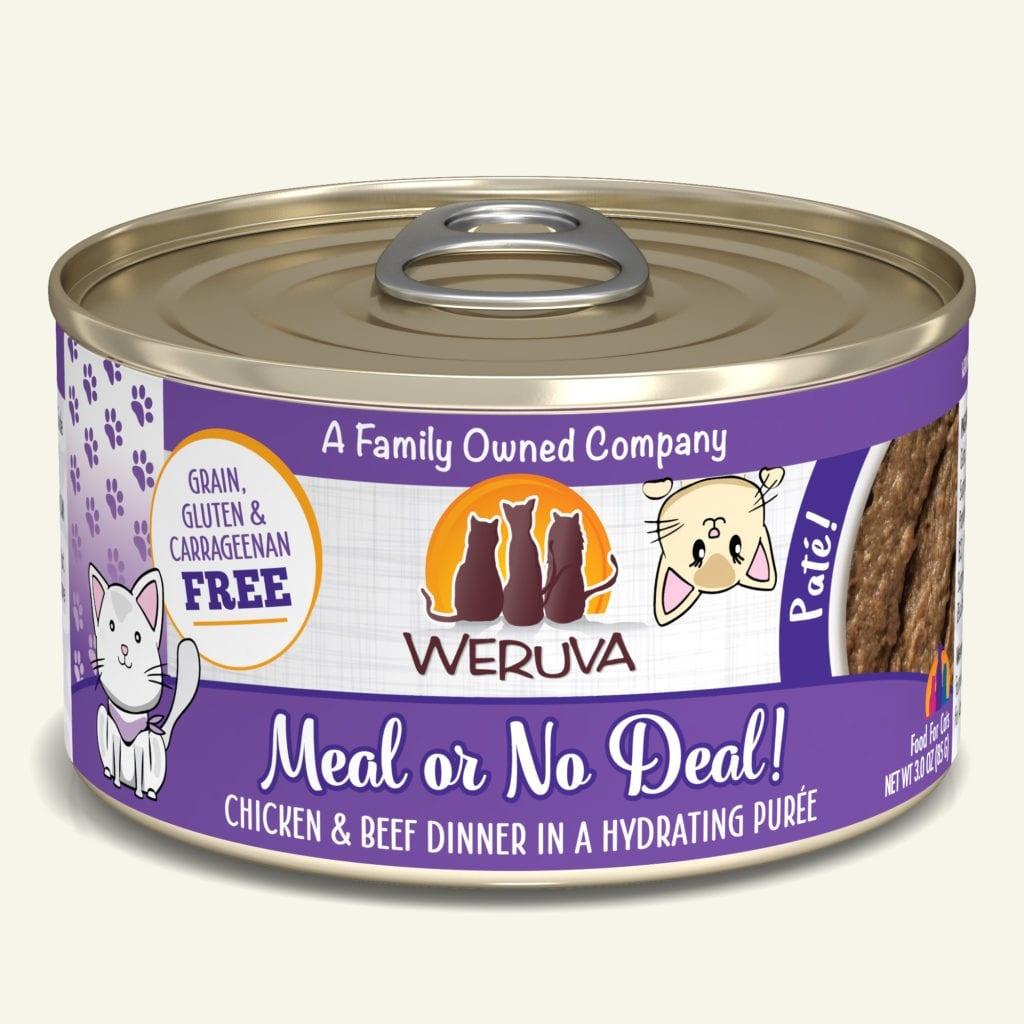 Weruva Weruva Pate Meal or No Deal! Wet Cat Food 5.5oz