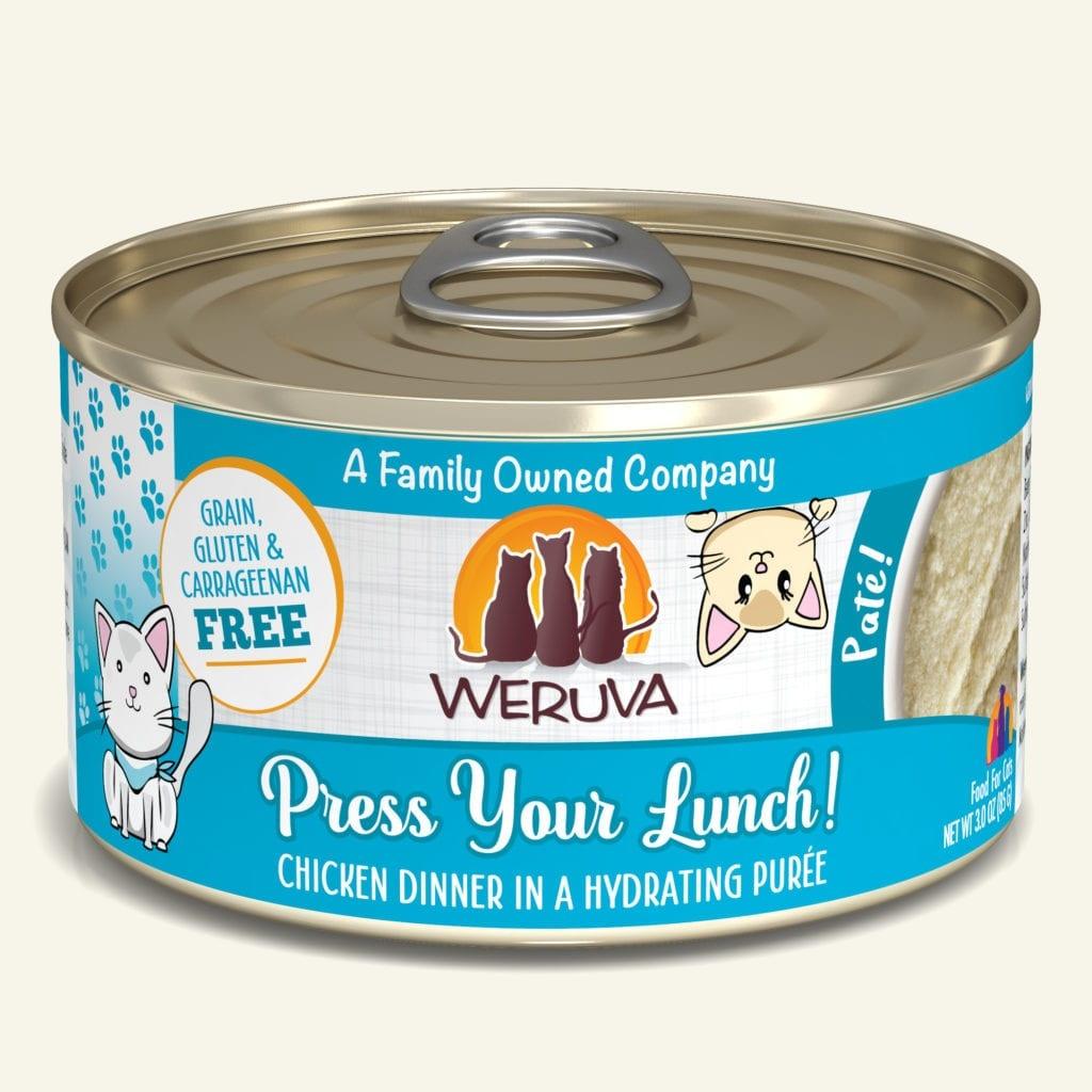 Weruva Weruva Pate Press Your Lunch! Wet Cat Food 5.5oz