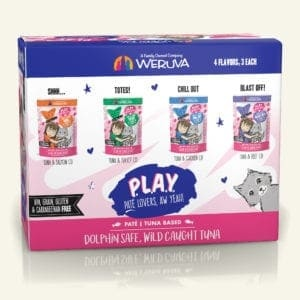 Weruva Weruva BFF PLAY Pate Partay Variety Pack Wet Cat Food Pouches 3oz