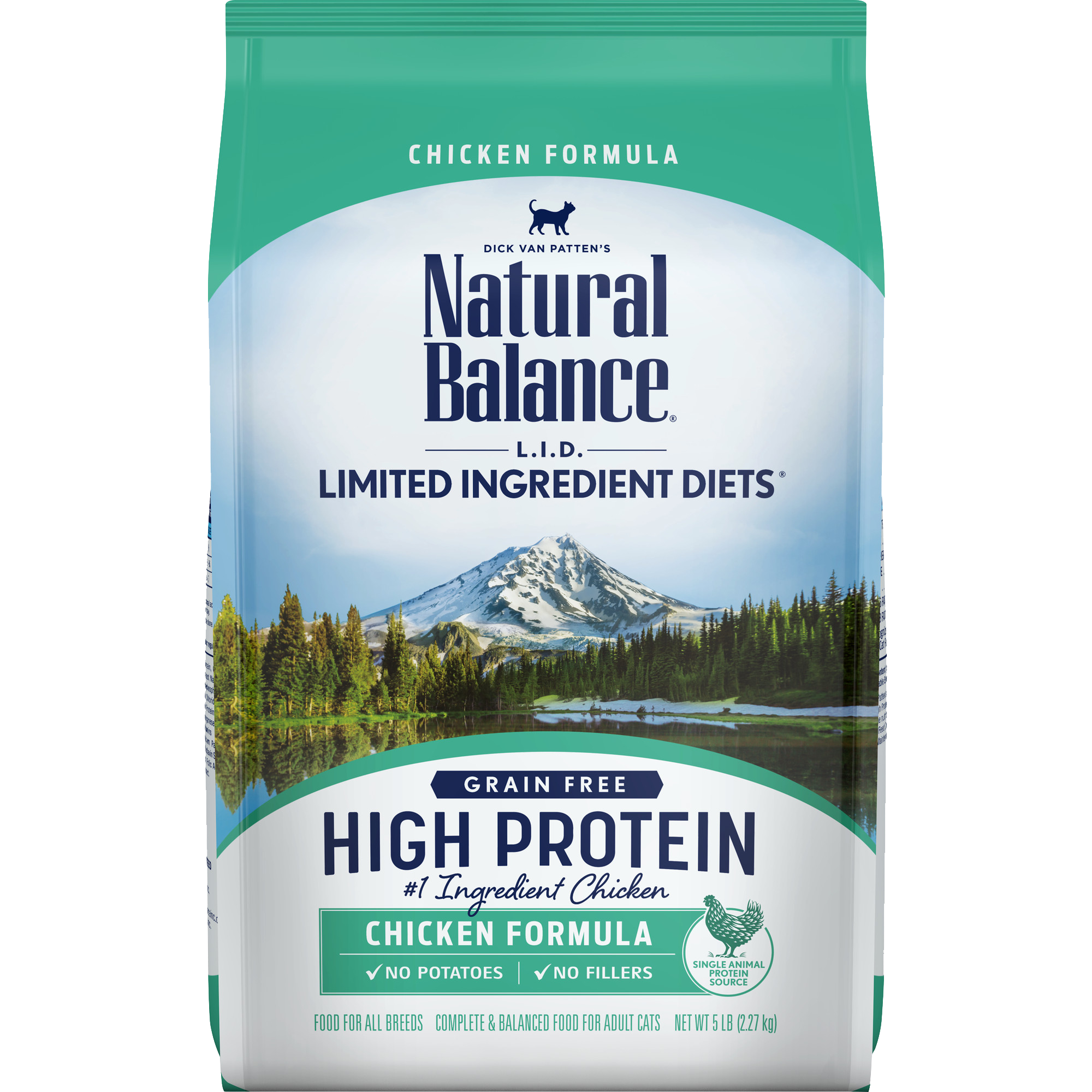 Natural Balance Natural Balance Limited Ingredient Diet High Protein Chicken Dry Cat Food