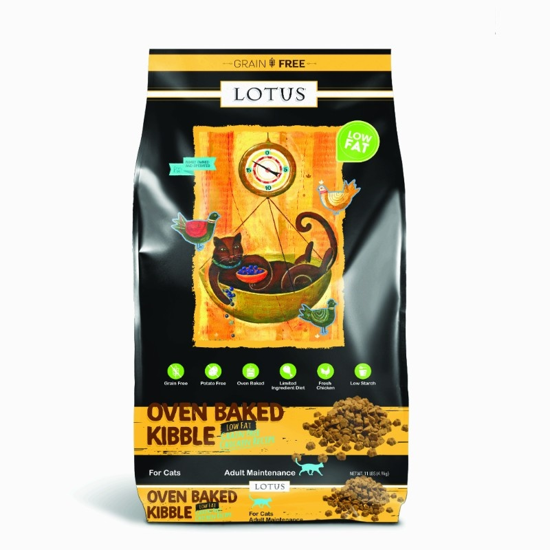 Lotus Lotus Oven Baked Grain Free Low Fat Chicken Dry Cat Food