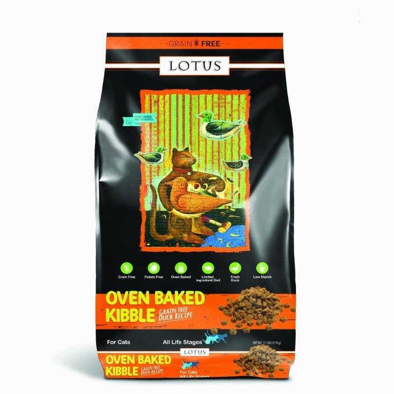 Lotus Lotus Oven Baked Grain Free Duck Dry Cat Food