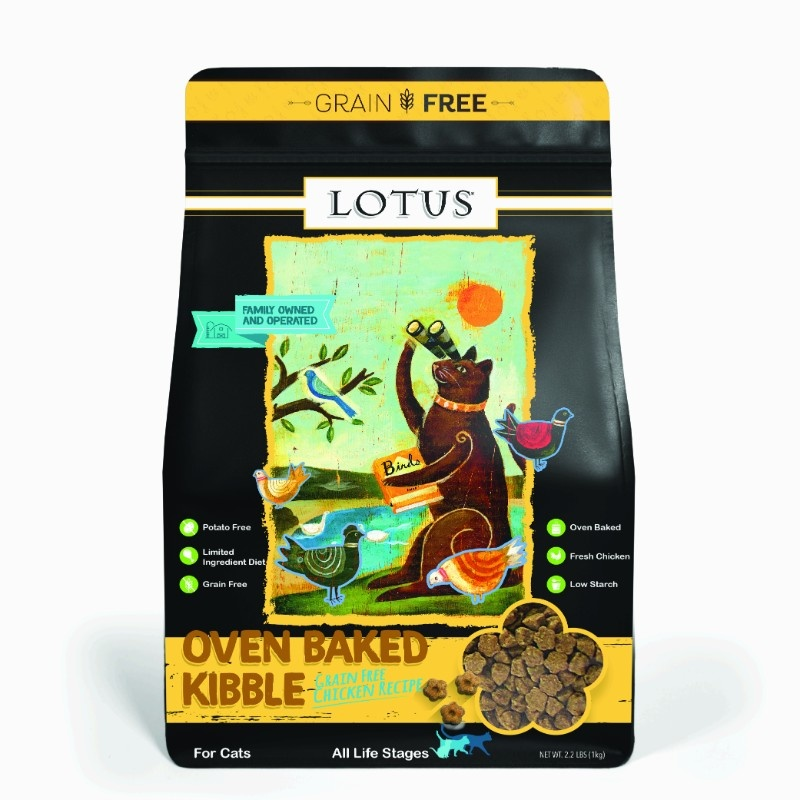 Lotus Lotus Oven Baked Grain Free Chicken Dry Cat Food