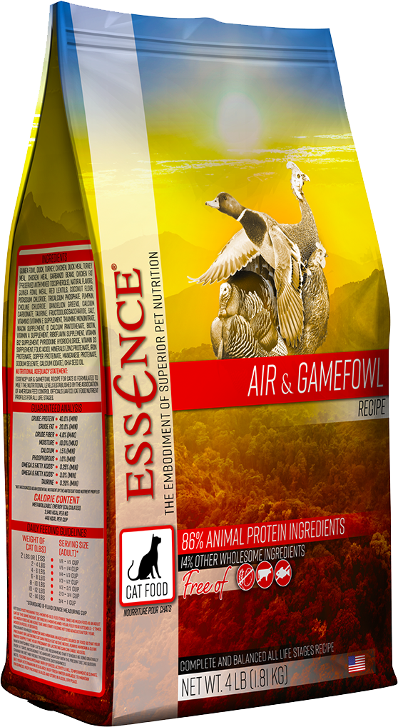 Zignature Essence Air & Gamefowl Formula Dry Cat Food 4#