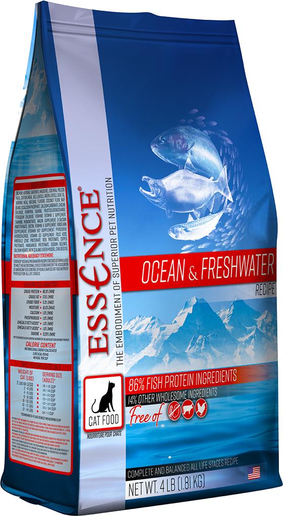 Zignature Essence Ocean & Freshwater Formula Dry Cat Food 4#