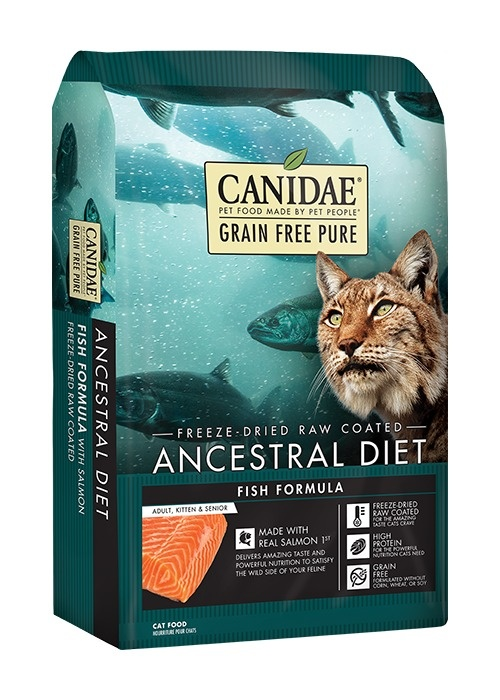 Canidae Canidae Ancestral Diet Fish Formula with Salmon & Tuna Dry Cat Food