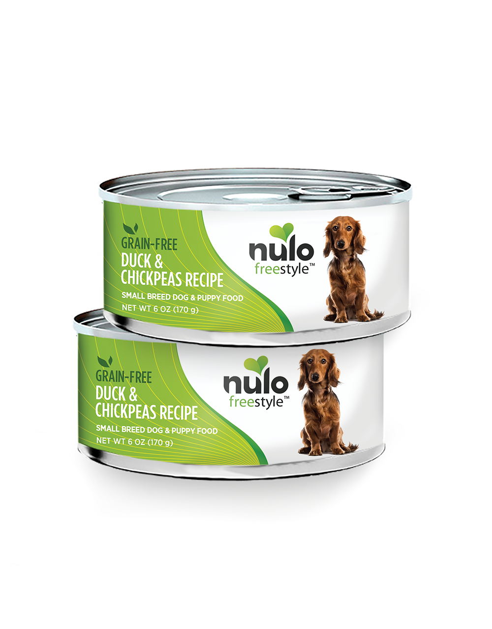 Nulo Nulo Freestyle Small Breed Duck & Chickpeas Wet Dog Food 6oz