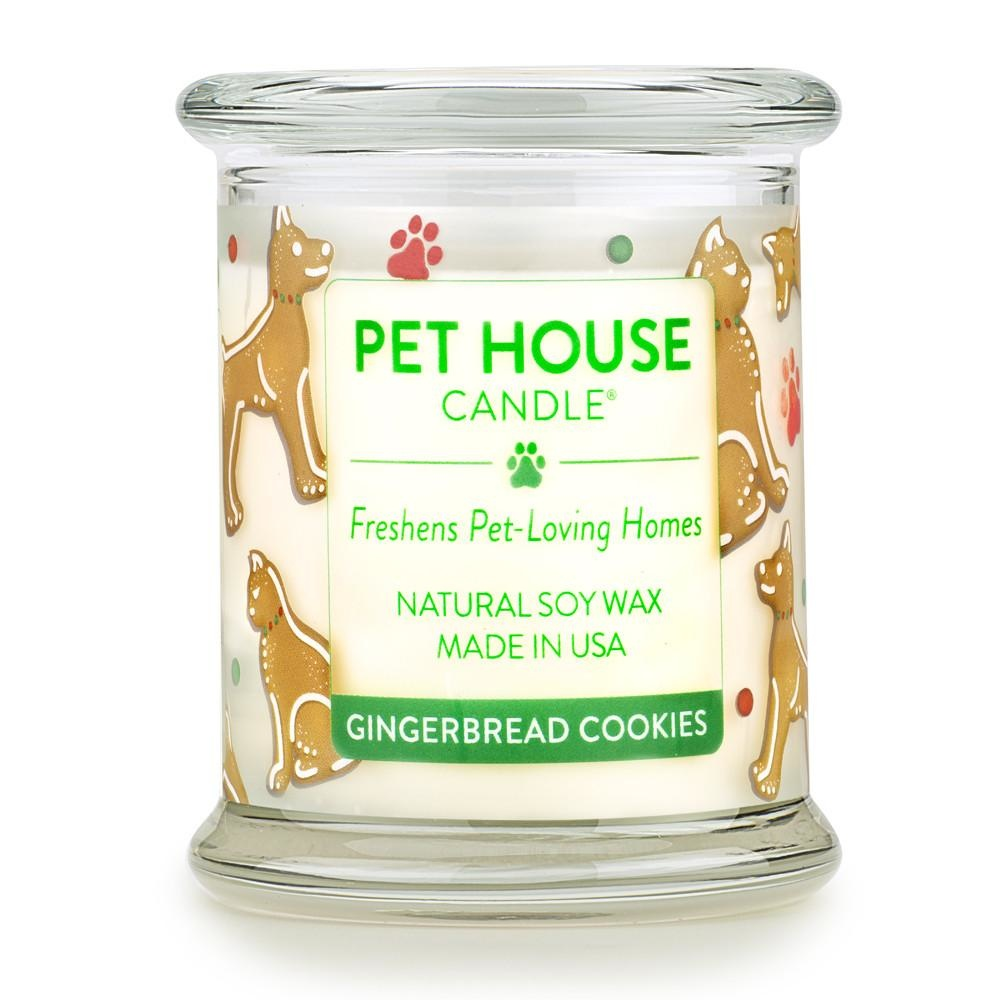 One Fur All One Fur All Pet House Candle Gingerbread Cookies