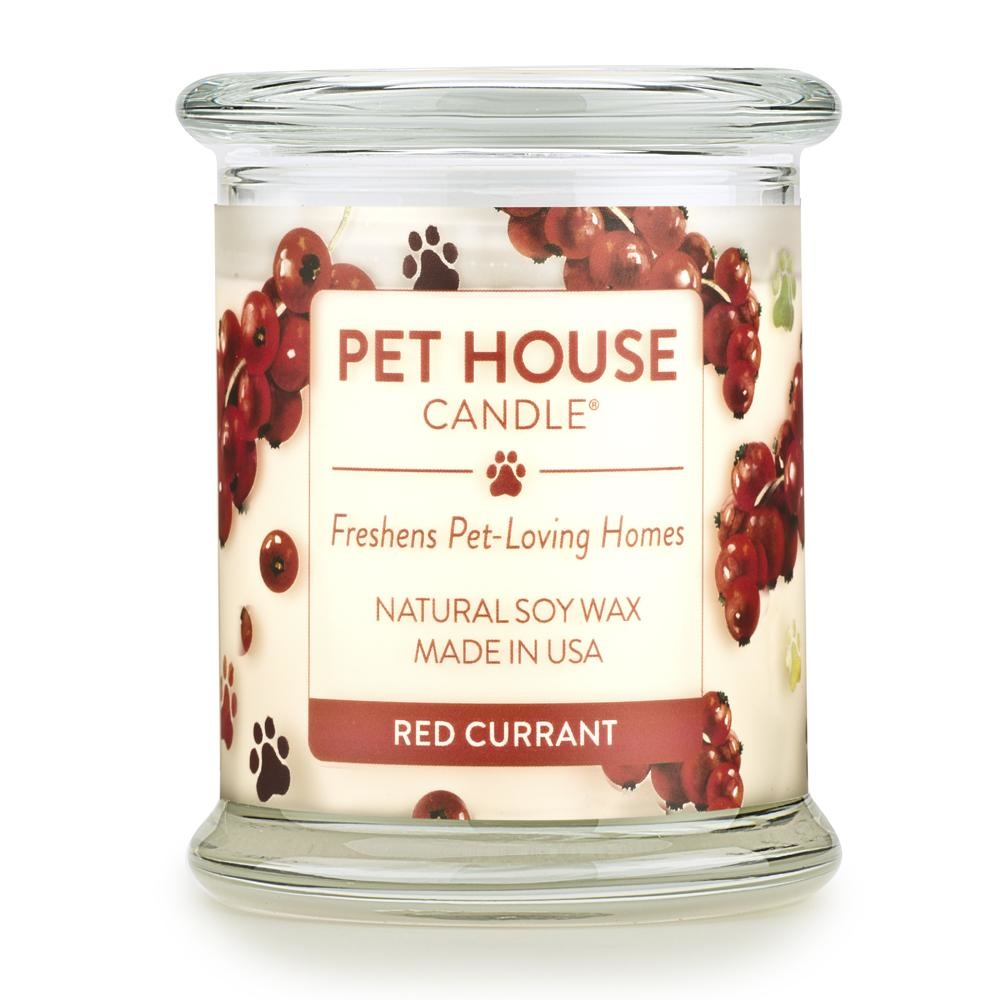 One Fur All One Fur All Pet House Candle Red Currant