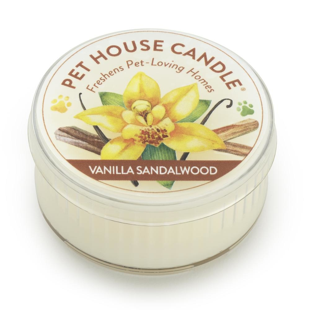 One Fur All One Fur All Pet House Candle Vanilla Sandalwood