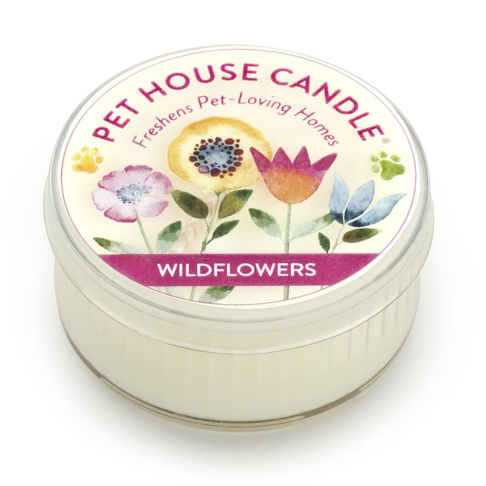 One Fur All One Fur All Pet House Candle Wildflowers