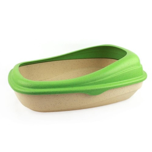Beco Recycled Bamboo Litter Tray Green