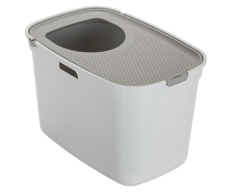 Moderna Moderna Top Cat Litter Box Warm Grey