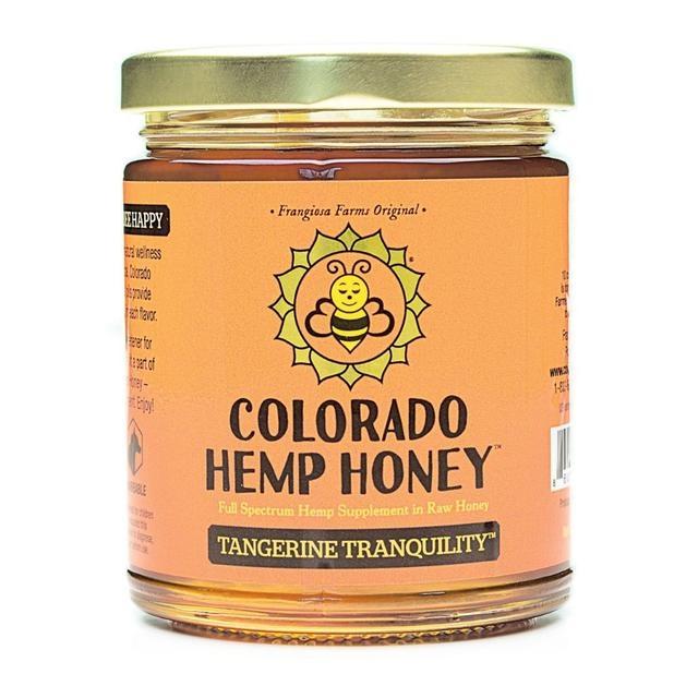 Colorado Hemp Honey Colorado Hemp Honey Tangerine Tranquility CBD Supplement 6oz