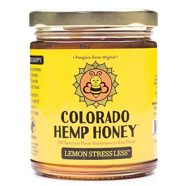Colorado Hemp Honey Colorado Hemp Honey Lemon Stress Less CBD Supplement 6oz