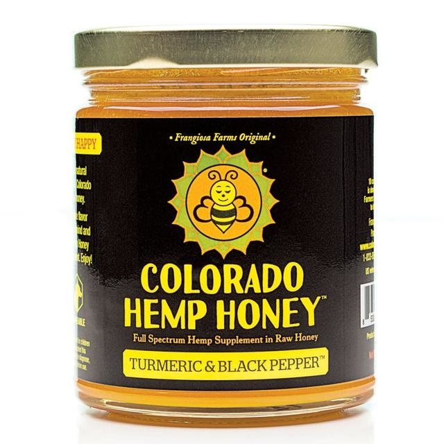 Colorado Hemp Honey Colorado Hemp Honey Turmeric & Black Pepper CBD Supplement