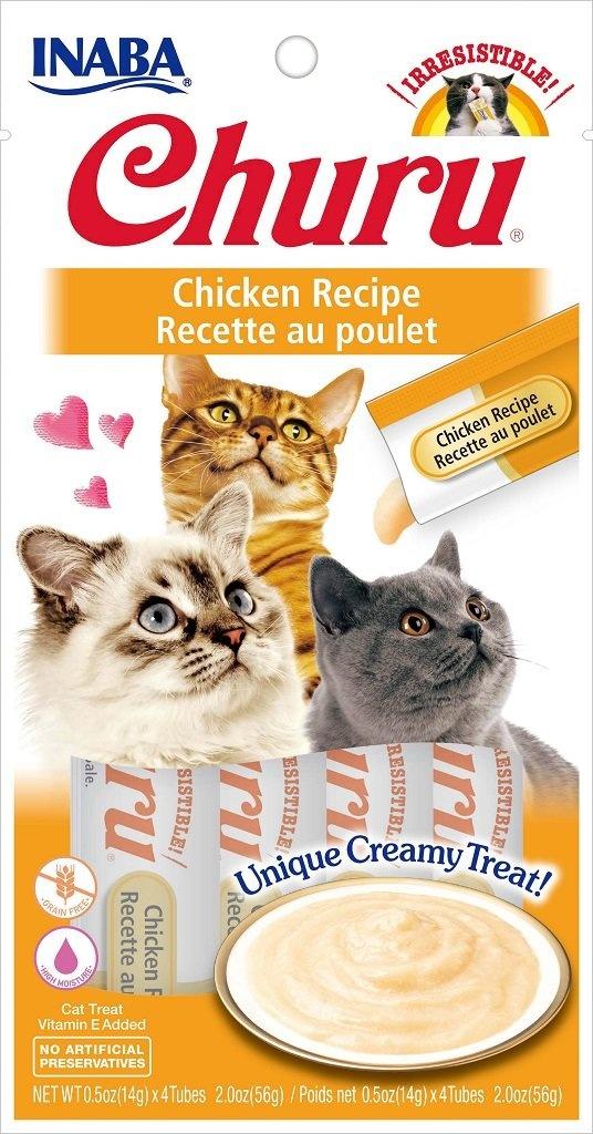 Inaba Inaba Churu Purees Chicken Cat Treat 4ct