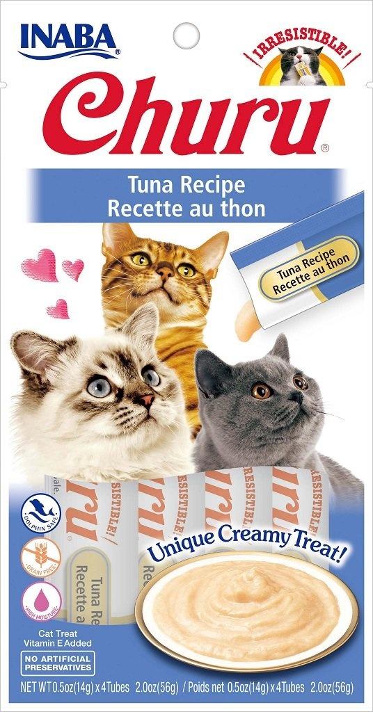 Inaba Inaba Churu Purees Tuna Cat Treat 4ct
