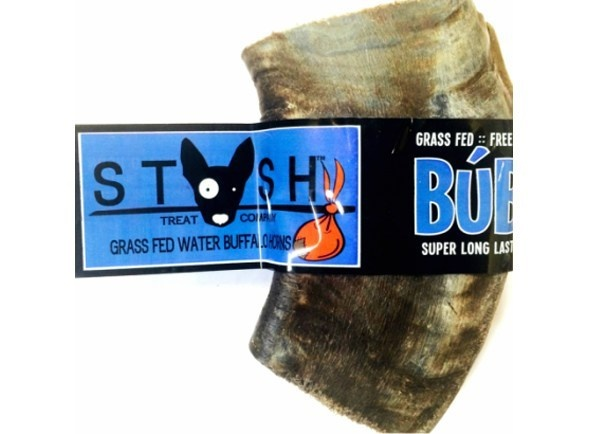 Stash Stash Water Buffalo Horn Dog Chew