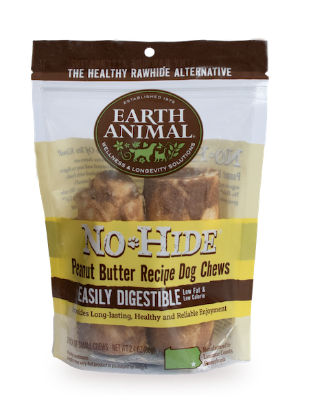 Earth Animal Earth Animal No Hide Peanut Butter Dog Chew
