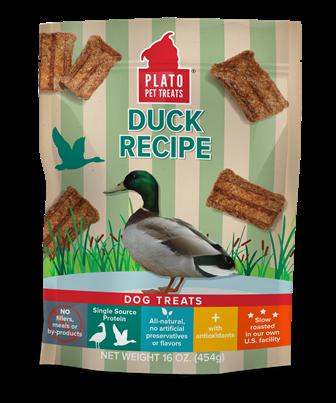 Plato Plato Duck Strips Dog Treat