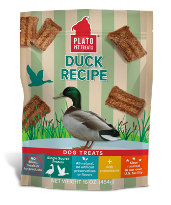 Plato Plato Duck Strips Dog Treats