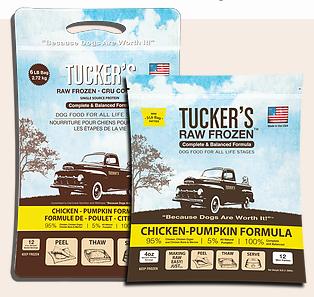 Tucker's Tucker's Chicken-Pumpkin Frozen Raw Dog Food