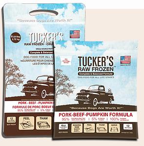 Tucker's Tucker's Pork-Beef-Pumpkin Frozen Raw Dog Food