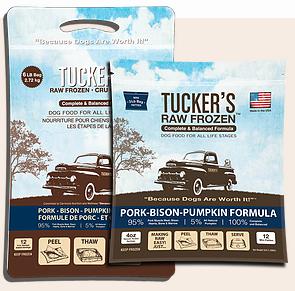 Tucker's Tucker's Pork-Bison-Pumpkin Frozen Raw Dog Food