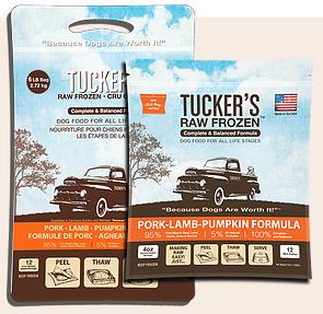 Tucker's Tucker's Pork-Lamb-Pumpkin Frozen Raw Dog Food