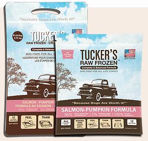 Tucker's Tucker's Salmon-Pumpkin Frozen Raw Dog Food