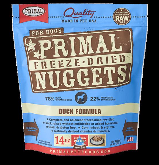 Primal Primal Duck Freeze Dried Dog Food 14oz