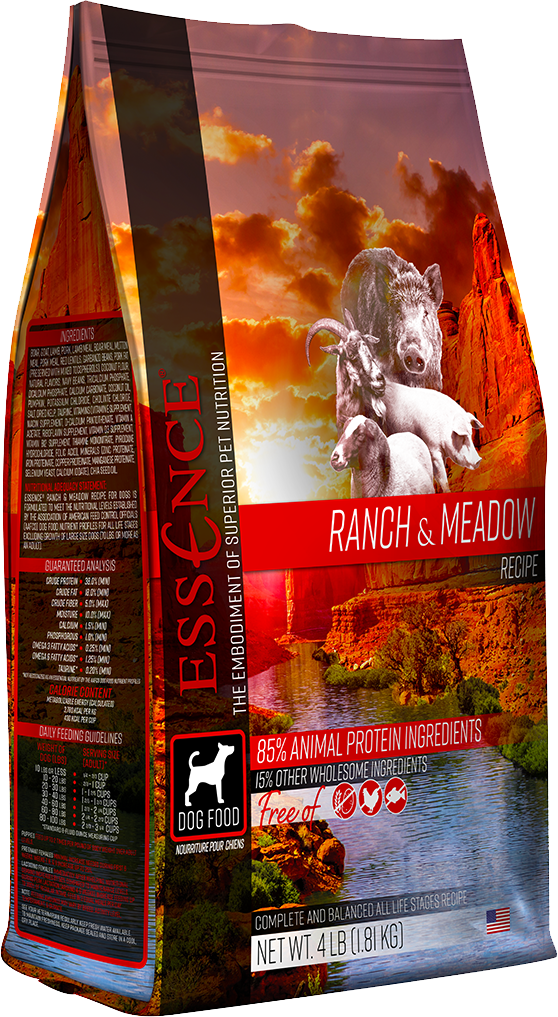 Essence Pet Foods Essence Ranch & Meadow Red Meat Formula Dry Dog Food