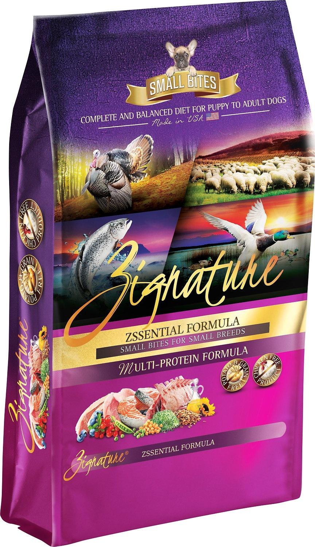 Zignature Zignature Zssentials Small Bites Dry Dog Food