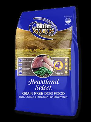 NutriSource NutriSource Grain Free Heartland Select Bison & Chicken Dry Dog Food