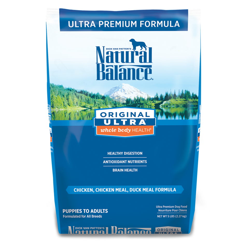 Natural Balance Natural Balance Ultra Chicken, Chicken Meal & Duck Meal Dry Dog Food 15#