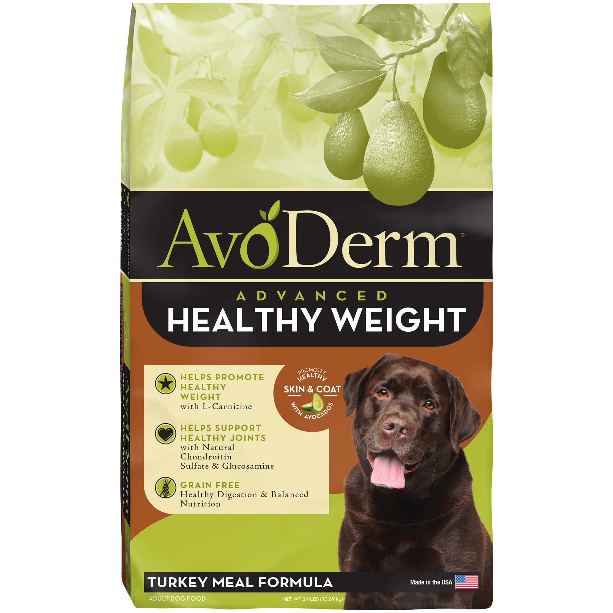 AvoDerm AvoDerm Grain Free Healthy Weight Turkey Dry Dog Food