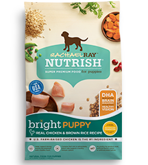 Rachael Ray Rachael Ray Nutrish Bright Puppy Real Chicken & Brown Rice Dry Dog Food