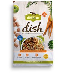 Rachael Ray Rachael Ray Nutrish DISH Chicken & Brown Rice Dry Dog Food