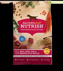 Rachael Ray Rachael Ray Nutrish Real Beef, Pea & Brown Rice Dry Dog Food