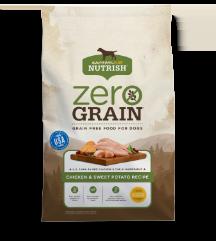Rachael Ray Rachael Ray Nutrish Zero Grain Chicken & Sweet Potato Dry Dog Food