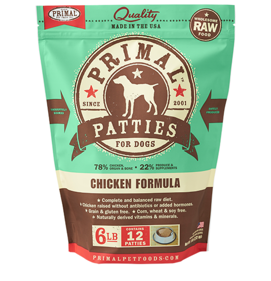 Primal Primal Chicken Raw Dog Food