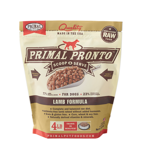 Primal Primal Lamb Raw Dog Food