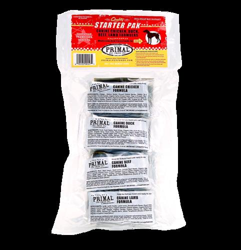 Primal Primal Raw Dog Food Starter Pack