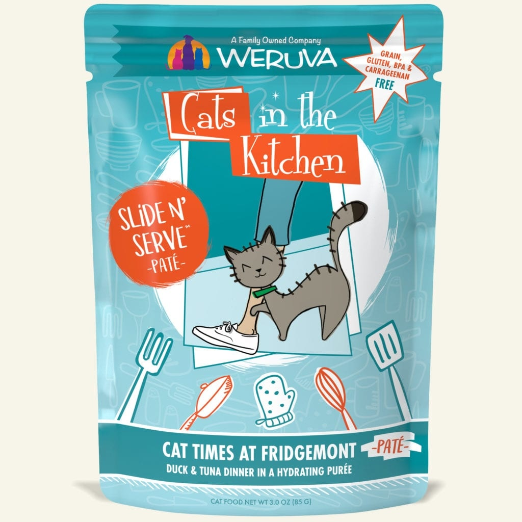Weruva Weruva Cats in the Kitchen Slide N' Serve Cat Times at Fridgemont Wet Cat Food Pouch 3oz