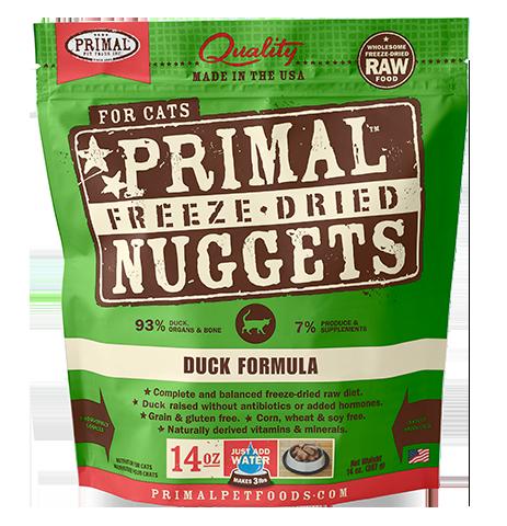 Primal Primal Duck Freeze Dried Cat Food