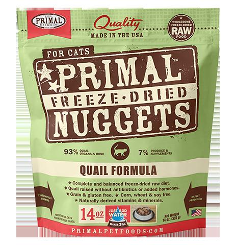 Primal Primal Quail Freeze Dried Cat Food