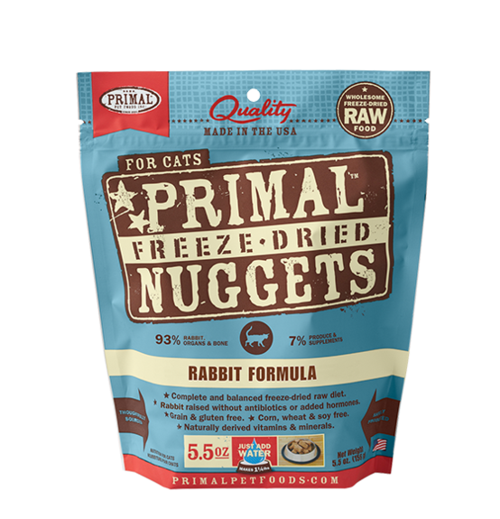 Primal Primal Rabbit Freeze Dried Cat Food
