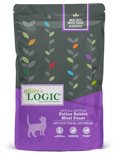 Nature's Logic Nature's Logic Rabbit Dry Cat Food